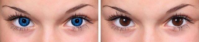 Глаза хамелеоны у человека - причины от которых меняется цвет глаз