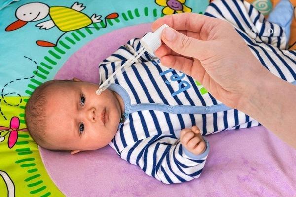 Непроходимость слезного канала у новорожденных