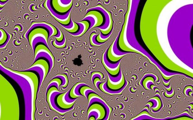 50 картинок с иллюзиями и оптическим обманом зрения