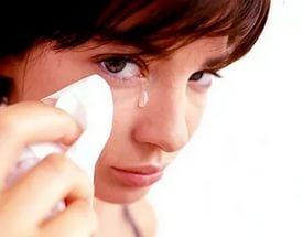 Что делать, если мыло попало в глаза