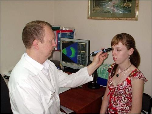 B-сканирование глаза - УЗИ глаза и глазных орбит